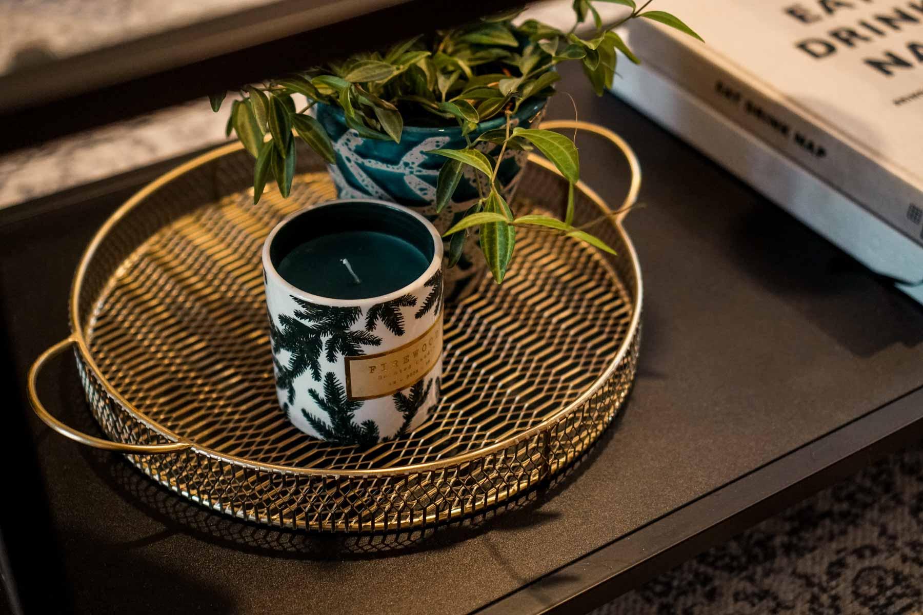 Caroline Allen Coffee Table Decor
