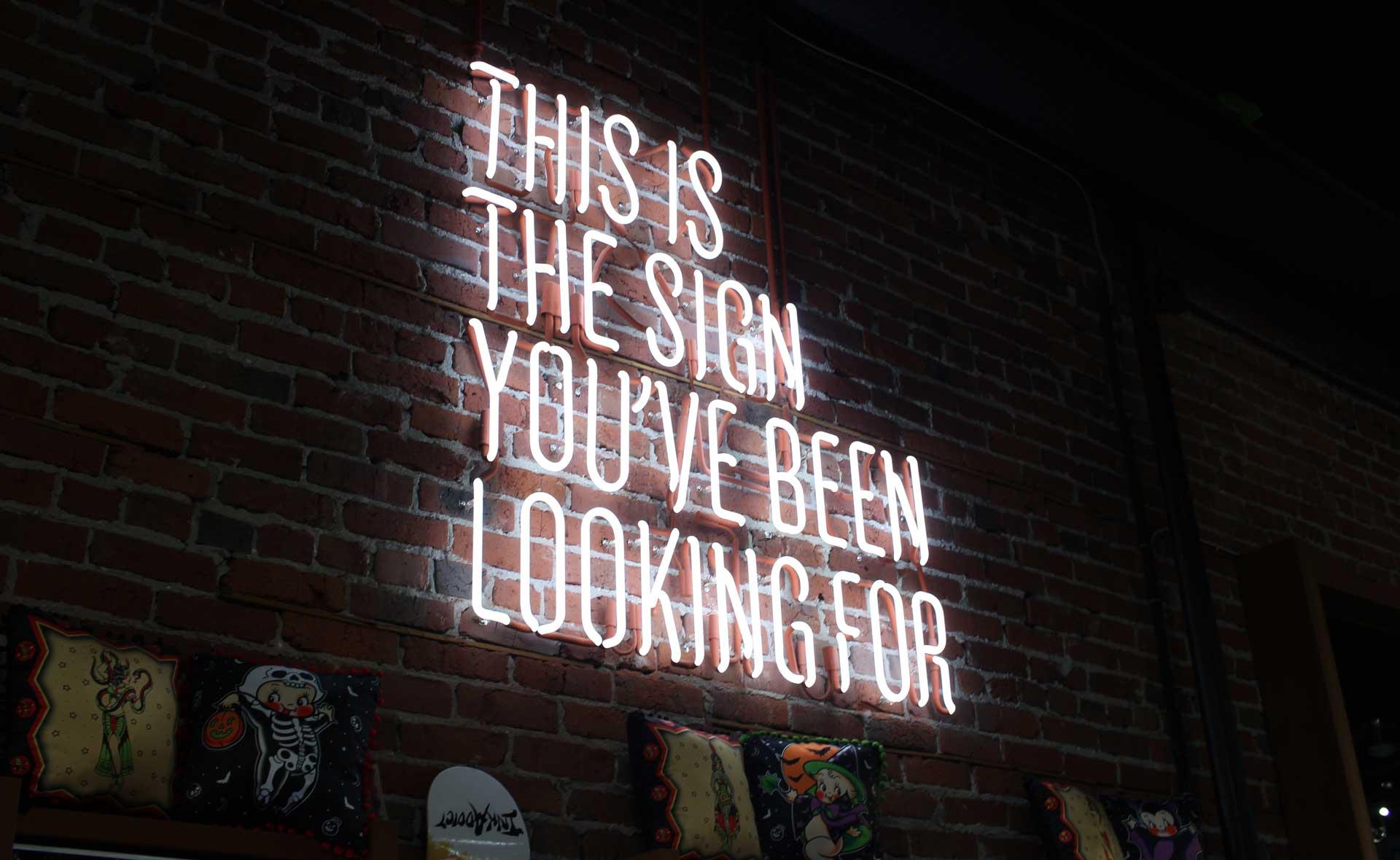 Sign you've been looking for quote - Caroline Allen