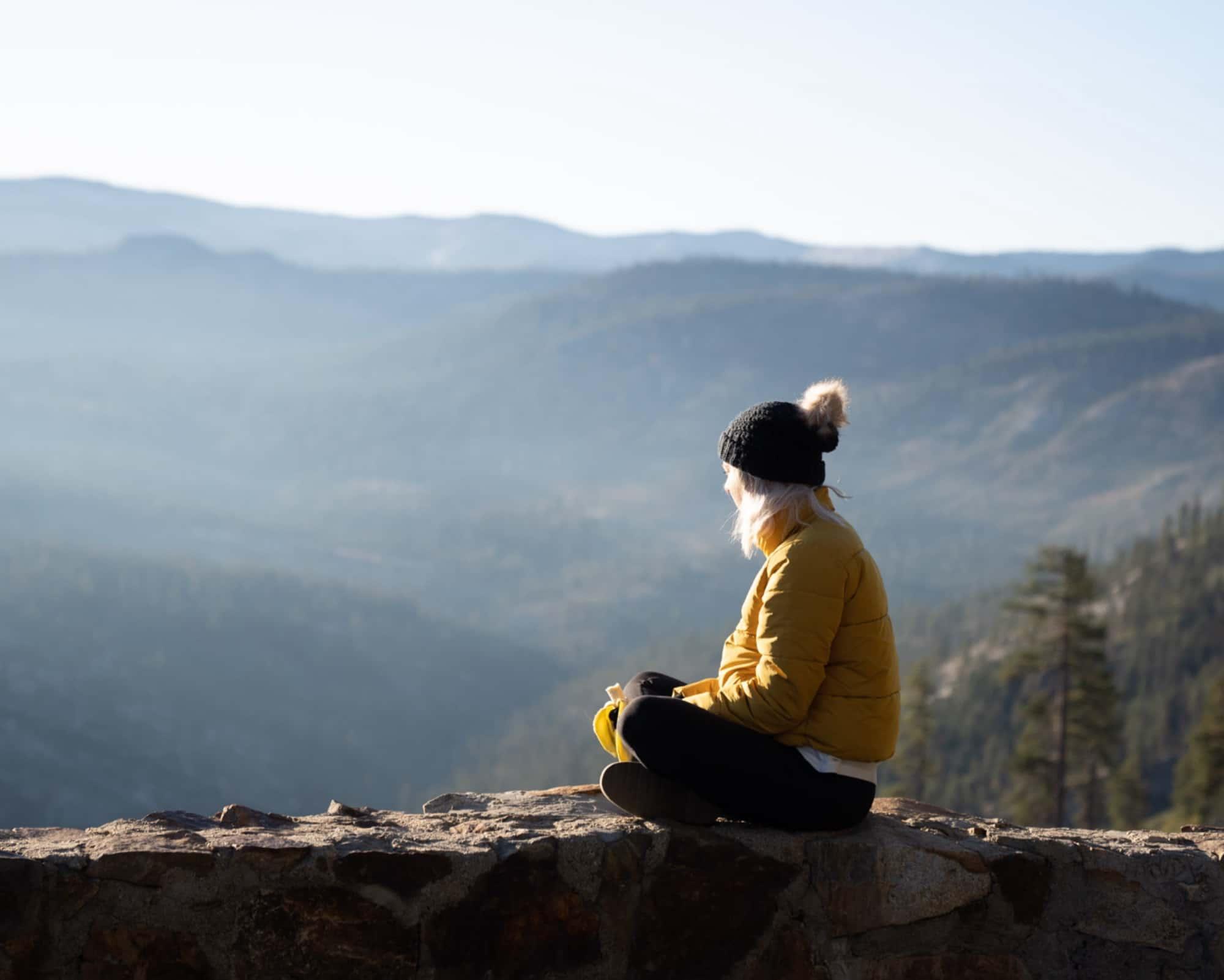 sentinel dome, Yosemite - Caroline Allen